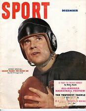 1951 (Dec.) Sport magazine,Football Johnny Lujack~Mickey Mantle ~ Gordie Howe~Fr
