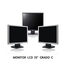 """MONITOR LCD 15"""" RICONDIZIONATO DISPONIBILI ANCHE 17"""" 19"""" ACER SAMSUNG FUJITSU"""