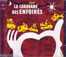 CD audio../...LA CARAVANE DES ENFOIRES........2007.../...2 CD...........