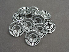 10X CLAMP WASHER FOR T-BOLT ø 0 3/16in DELTA Audi, Seat, Skoda, VW N90796502
