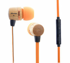 AWEI Super Bass Stereo Headphones In-ear Earphone Headphone ES-16Hi Wooden