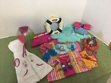 RARE American Girl Clothes 2005 Seaside Wardrobe & Accessories Clothes Fire-Pit