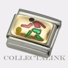 Original Nomination Classic 18k Green Basketball  Guy Charm