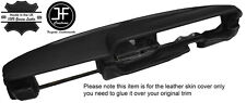 BLACK STITCHING DASH DASHBOARD LEATHER COVER FITS LANCIA BETA HPE
