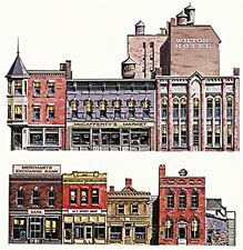 Walthers SceneMaster-Instant Buildings -- Main Street Stores - HO