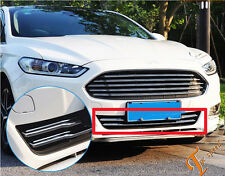 Chrome Front Grille Cover Trim for 2013 2014  Ford Fusion