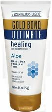 5 Pack - Gold Bond Ultimate Healing Skin Cream with Aloe 5.5 oz Each
