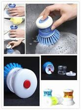 ew Kitchen Wash Tool Pot Pan Dish Bowl Palm Brush Scrubber Cleaning Cleaner