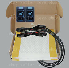 car seat heater,2 seats heated seat,rectangle rocker switch,fit all 12V cars