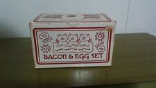 Vintage Bacon and Egg Set