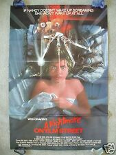 A NIGHTMARE ON ELM STREET * 1984 ORIGINAL MOVIE POSTER FREDDY KRUEGER HALLOWEEN