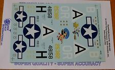 Microscale Decal 1:48 Scale #MS48-942 B-17F/G Flying Fortruesses:850th BS/490th&