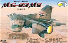 RV Aircraft 1/72 MiG-23MS Flogger plastic kit  - OOP