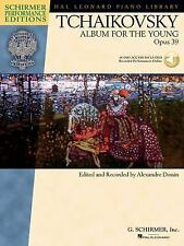 TCHAIKOVSKY BOOK/AUDIO DOWNLOAD Album for the Young Hal Leonard Piano Library!