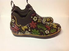 BOGS Women's Mattie Corsage Waterproof Rubber Rain Boots 52232 US Sz 6