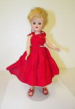 VINTAGE VOGUE JILL DOLL ORIGINAL RED DRESS & SHOES