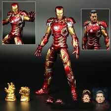 Iron Man Mark MK 43 XLIII Avengers Age of Ultron Figure Figurine No Box