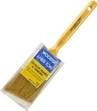 "Wooster 2"" Angle Amber Fong Paint Brush Natural China Bristle Oil Paint Stain"