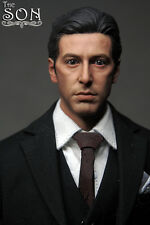 Custom 1/6 Scale Young Al Pacino Head Sculpt For Hot Toys Figure Body