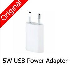 100%Genuine Apple BULK  FAXCONN iPhone 7 6S 6Plus 6 5 5S 4S EU USB Power Adapter