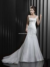BNWT ENZOANI BEAUTIFUL BT13-16 WEDDING GOWN DRESS SZ 22 IN IVORY *RETAIL $1350*