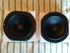 "Pair of Slightly Used Peerless SDS-160F25PR01-08 6.5"" Woofer Speakers"