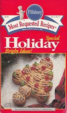 SPECIAL HOLIDAY BRIGHT IDEAS PILLSBURY MOST REQUESTED RECIPES COOKBOOK 1994 YUM!