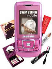 Samsung d900i ROSA (senza SIM-lock) 3mp radio Quadband mp3 Bluetooth raritätt OVP