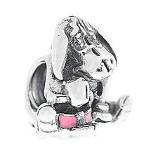 Genuine Pandora Silver Disney Eeyore Charm 791567EN80 Authentic