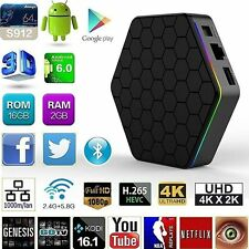 T95Z Plus S912 2GB+16GB Octa Core Android 6.0 TV Box 2.4/5Ghz Wifi Bluetooth