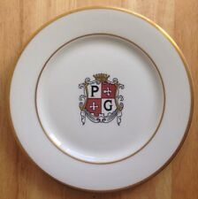 1963 PRINCE GEORGE MOTOR HOTEL RESTAURANT WARE PLATE, VERSION 1, WASHINGTON, DC