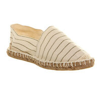 Mens Office Solemate Espadrilles BEIGE NATURAL CANVAS Casual Shoes