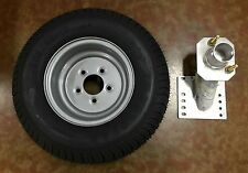 20.5X8-10 (205/65-10) Class C Trailer Tire with Triton 08519 Spare Tire Carrier