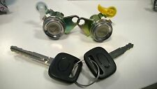 TOYOTA COROLLA E10 91-97 AE110 LOCKSET 2 RIGHT LEFT DOOR LOCK BARREL WITH KEYS