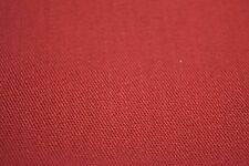 """CRIMSON POLY COTTON TWILL HOME DECOR & UPHOLSTERY FABRIC 60"""" W SOLD BTY"""