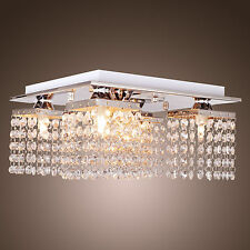 ELEGANT CRYSTAL CHANDELIER MODERN CEILING LIGHT PENDANT LIGHTING FIXTURE 5 LAMP