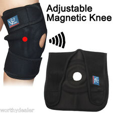 Magnetic Knee Support, Adjustable open patella Neoprene, sport ,Brace,Guard