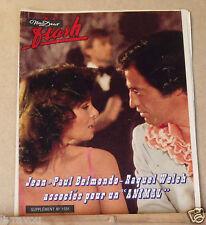 ▬► Flash Nous Deux 1581 de 1977 Jean Paul Belmondo_Raquel Welch_Taryn Power