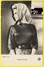 "cpa RARE PORTRAIT STAR PEOPLE ""Brigitte BARDOT"" BB PHOTO U.F.A. Ed. P.I. Paris"