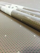 Gramercy Floral Dots Small Detail Pattern Wallpaper Taupe Green 3 Double Rolls