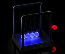 Kinetic Light Cradle Newtons Cradle Steel Balance Ball Physics Science Pendulum