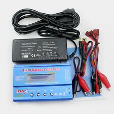 80W iMAX B6 LCD RC Lipo/NiMh/Li-ion Battery Balance Charger + AC adapter