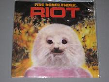 RIOT Fire Down Under LP New Sealed Vinyl