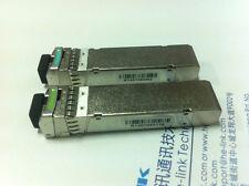 For Dell, BiDi SFP+ 10GBase Tx1270/Rx1330nm,Rx1270/Tx1330nm 60KM Pair Price