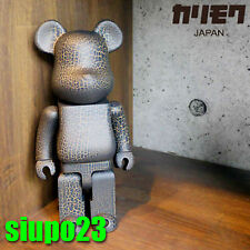 Medicom 400% Bearbrick ~ Crack Paint Wood Be@rbrick