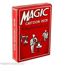 Magic Cartoon Deck Trick w/ Video Instructions - Absolutely Amazing Card Magic !