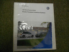 2008 VW Routan Occupant Protection Service Training Self Study Program Manual