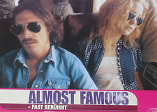 ALMOST FAMOUS - Lobby Cards Set - Kate Hudson, Billy Crudup, Cameron Crowe