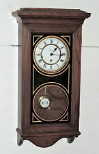 COLONIAL MOLYNEUX TRIPLE /WESTMINSTER CHIME WALL CLOCK REGULATOR WORKING U.S.A