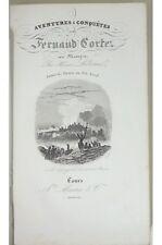 Henri Lebrun - Aventures et Conquêtes de Fernand Cortez au Mexique